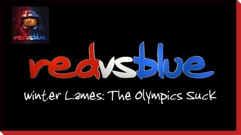 Season 4 - Winter Lames- The Olympics Suck PSA - Red vs. Blue