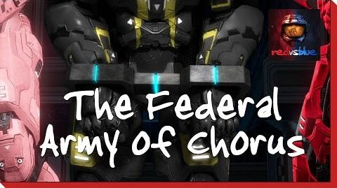 The Federal Army of Chorus - Episode 9 - Red vs
