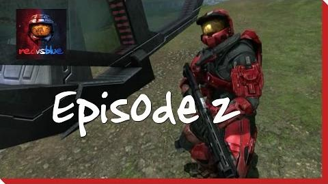 Episode 2 - Where There's a Will, There's a Wall - Red vs. Blue Mini-Series