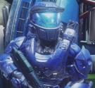 Loco Blue Visor