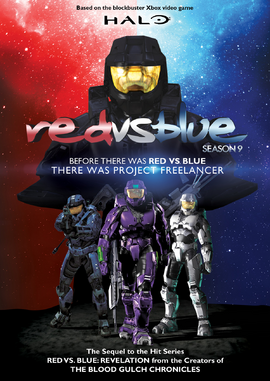 RvB Season 9 DVD.
