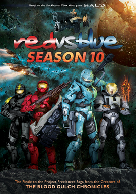 RvB S10 DVD Cover 2.0