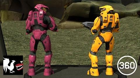 Red vs. Blue 360 Video A Day at the Base