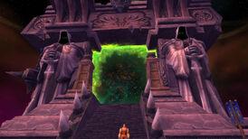 Dunkles Portal