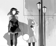 Chapter 8 (2018 manga) Ruby and Penny heard an explosion in Vale