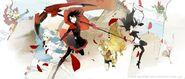 RWBY The Official Manga Illustration