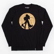 RWBY Yang Foil Long Sleeve T-shirt
