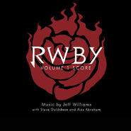 RWBY Volume 1 Score Cover