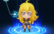 RWBY Crystal Match Yang Xiao Long's aviator sunglasses