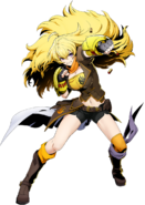 Yang Xiao Long (BlazBlue Cross Tag Battle, Character Select Artwork)