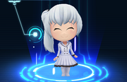 RWBY Crystal Match Weiss Schnee's Snowpea outfit
