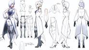 Winter Schnee concept art captured by Einlee