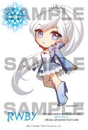 Chibi illustration of Weiss Schnee for RWBY Manga Anthology Mirror Mirror by Ein Lee