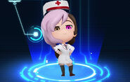 RWBY Crystal Match Neo Politan's paramedic outfit