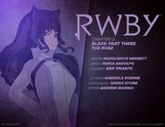 RWBY DC Comics 6 (Chapter 12) introduction cover