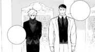 Chapter 19 (2018 manga) Ironwood discussed Ozpin about Team RWBY after the battle