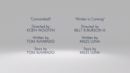 Cannonball credits