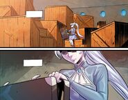 RWBY DC Comics 7 (Chapter 13) Weiss checking her belonging after left Atlas