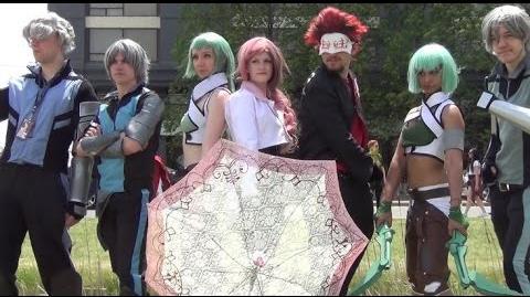 Anime North 2015 RWBY Cosplayers