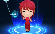 RWBY Crystal Match Pyrrha Nikos' prom dress