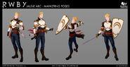 Jaune Marketing Poses