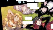 RWBY DC Comics 1 (Chapter 1) Team RWBY during their Beacon days