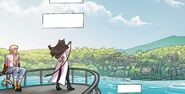 RWBY DC Comics 4 (Chapter 8) Blake and Sun arrive at Menagerie