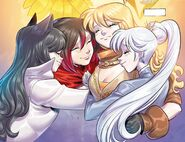 RWBY DC Comics 7 (Chapter 14) Team RWBY reunited in the future