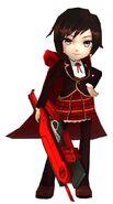 Amity Arena Sniper Ruby's Beacon Uniform Model