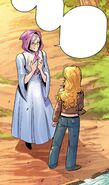 RWBY DC Comics 2 (Chapter 3) Madame Mallari compliment Yang's strength