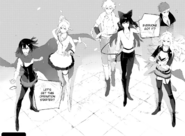Chapter 9 (2018 manga) Team RWBY, Sun and Neptune start their operation