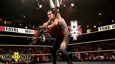 Baron Corbin vs. CJ Parker NXT TakeOver Fatal 4-Way, Sept. 11, 2014