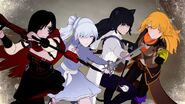 Team RWBY charges