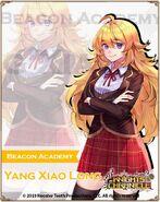 KC X RWBY (Normal Costume - Beacon Academy Yang Xiao Long)