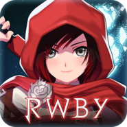 RWBY Amity Arena mobile game app icon