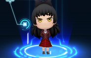 RWBY Crystal Match Blake Belladonna's Beacon uniform