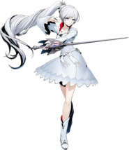 Weiss Schnee (BlazBlue Cross Tag Battle, Character Select Artwork)