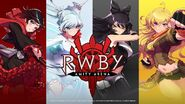 Amity Arena Team RWBY pre-registration promotional material