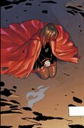 RWBY DC Comics 1 (Chapter 1) Ruby during the Battle of Beacon