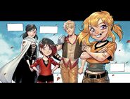 RWBY DC Comics 1 (Chapter 1) Xiao Long-Rose Family