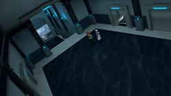 Atlas vault elevator entrance