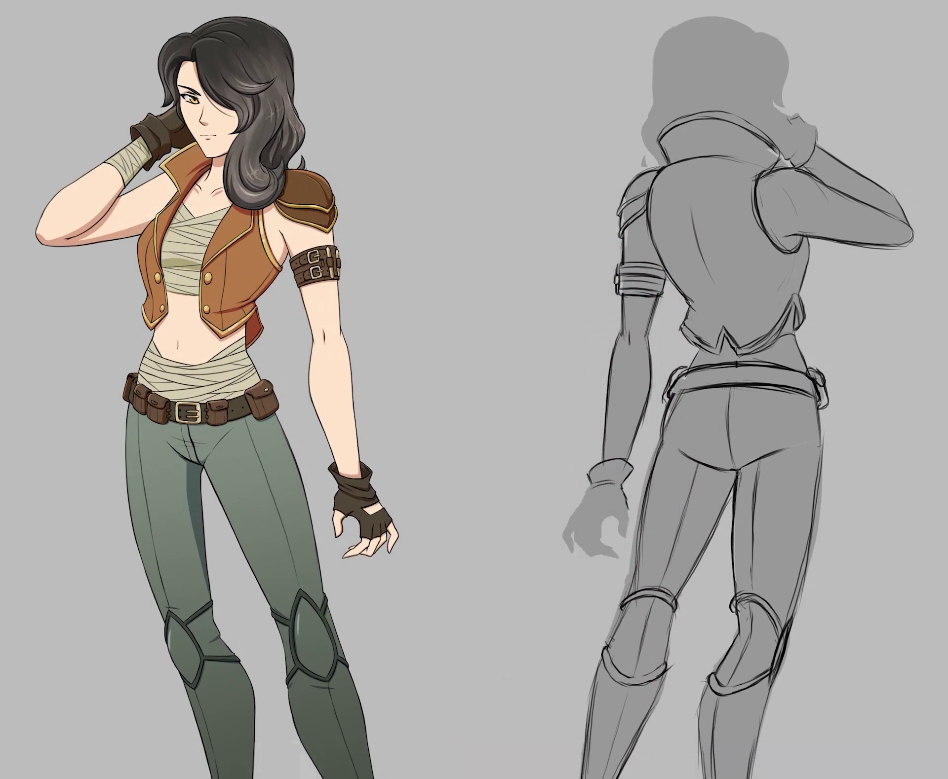 Images of Rwby Emerald Concept Art - #rock-cafe