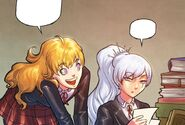 RWBY DC Comics 4 (Chapter 7) Yang asks Weiss for a request