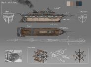 V4e3 ship concept art
