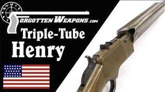 Experimental Triple-Magazine Henry Rifle