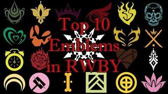 Top 10 Emblems in RWBY! - RWBY Best Emblems Poll Results