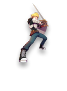 Amity arena character art jaune arc
