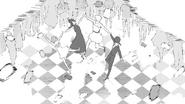 Chapter 13 (2018 manga) Team JNPR dance