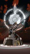 RWBY AA Atlesian Burrow Gun render