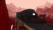 Train MMX9 Black Trailer